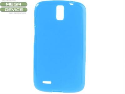 СИЛИКОНОВ ПРОТЕКТОР ЗА HUAWEI G610 G610S G610C G610T C8815 - BLUE