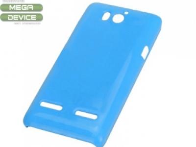 PVC ГРЪБ ЗА HUAWEI ASCEND G600 - BLUE