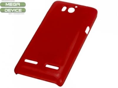 PVC ГРЪБ ЗА HUAWEI ASCEND G600 - RED