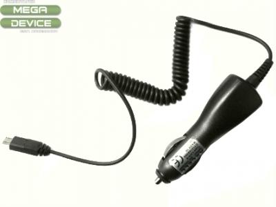 УНИВЕРСАЛНО micro USB ЗАРЯДНО ЗА АВТОМОБИЛ 12/24V - BLACK