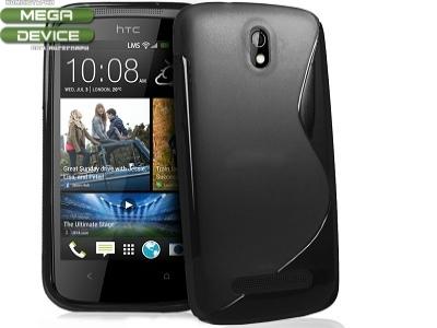 СИЛИКОНОВ ПРОТЕКТОР ЗА HTC 506e DESIRE 500 - BLACK