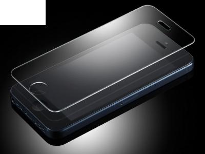 СТЪКЛЕН УДАРОУСТОЙЧИВ СКРИЙН ПРОТЕКТОР ЗА iPhone 5 / 5S / 5c