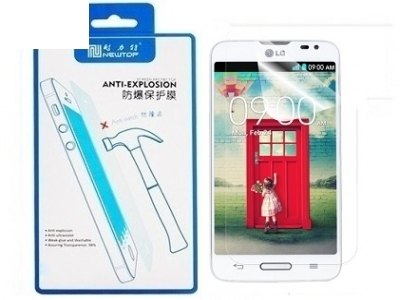Shock resistant screen protector for LG D320 L70