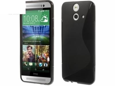 СИЛИКОНОВ ПРОТЕКТОР ЗА HTC ONE E8 ACE - Black