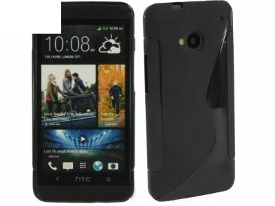 СИЛИКОНОВ ПРОТЕКТОР ЗА HTC ONE M7 - Black