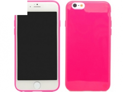СИЛИКОНОВ ПРОТЕКТОР ЗА iPhone 6 - 4.7inch - Pink