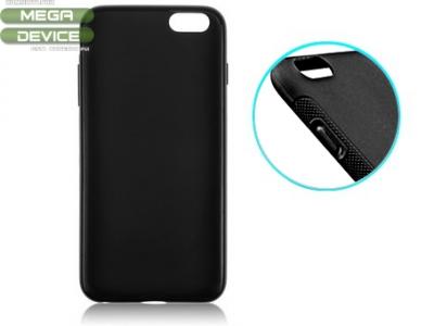 СИЛИКОНОВ ПРОТЕКТОР ЗА iPhone 6 - 5.5inch - Black