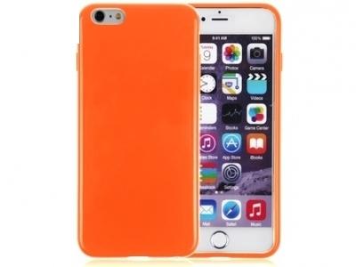 СИЛИКОНОВ ПРОТЕКТОР ЗА iPhone 6 - 5.5inch - Orange