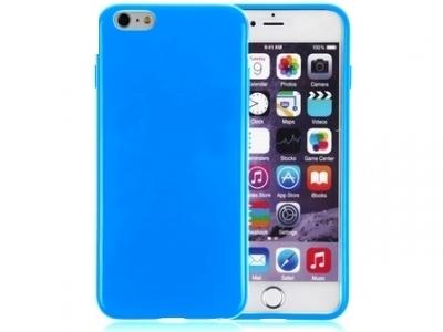СИЛИКОНОВ ПРОТЕКТОР ЗА iPhone 6 - 5.5inch - Blue