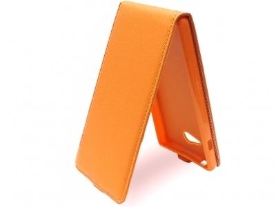 КАЛЪФ ТЕФТЕР ЗА SONY D2306 D2305 D2303 XPERIA M2 - Orange Pearl