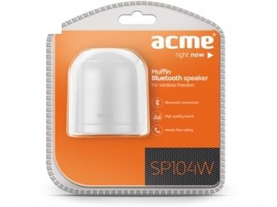 ПРЕНОСИМА КОЛОНКА ACME SP104W Muffin Bluetooth speaker - White
