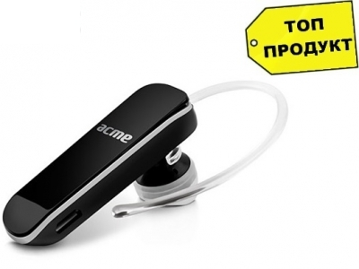 BLUETOOTH HANDSFREE ACME BH07 Universal Bluetooth headset - Black