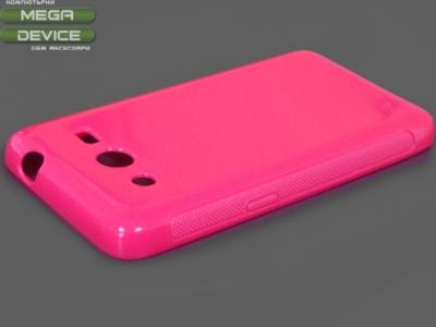 СИЛИКОНОВ ПРОТЕКТОР ЗА SAMSUNG G355H GALAXY CORE 2 - Pink