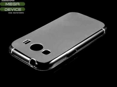 ПРОЗИРАЩ СИЛИКОНОВ ПРОТЕКТОР ЗА SAMSUNG G357 GALAXY ACE 4 / ACE STYLE LTE - Transparent