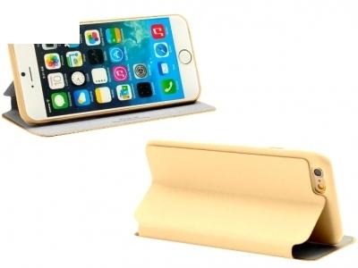 УЛТРА ТЪНЪК КАЛЪФ ТЕФТЕР X-LEVEL ЗА iPhone 6 4.7-inch - Gold