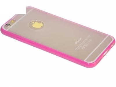 PVC ГРЪБ СЪС СИЛИКОНОВА ЛАЙСНА ЗА iPhone 6 4.7-inch X-Level - Pink
