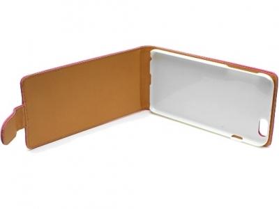 КАЛЪФ ТЕФТЕР ЗА iPhone 6 Plus 5.5-inch МАТИРАНА КОЖА - Pink