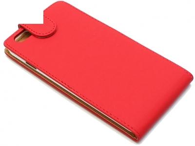 КАЛЪФ ТЕФТЕР ЗА iPhone 6 Plus 5.5-inch МАТИРАНА КОЖА - Red