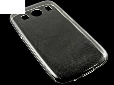 УЛТРА ТЪНЪК ПРОЗРАЧЕН СИЛИКОНОВ ПРОТЕКТОР ЗА SAMSUNG G357 GALAXY ACE 4 / ACE STYLE LTE - Transparent