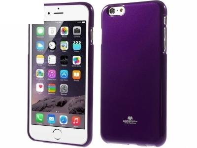БЛЕСТЯЩ СИЛИКОНОВ ПРОТЕКТОР Mercury ЗА iPhone 6 Plus - 5.5inch - Purple