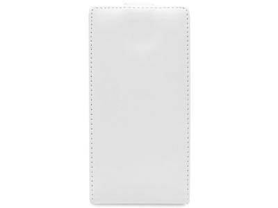 КАЛЪФ ТЕФТЕР ЗА iPhone 6 Plus 5.5-inch МАТИРАНА КОЖА - White