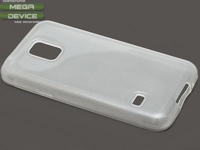 ПРОЗИРАЩ СИЛИКОНОВ ПРОТЕКТОР ЗА SAMSUNG GALAXY S5 MINI G800F - Transparent