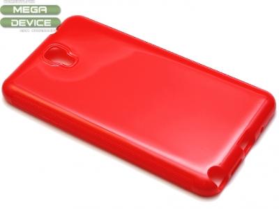 СИЛИКОНОВ ПРОТЕКТОР ЗА SAMSUNG SM-N750 / N7505 GALAXY NOTE 3 NEO - Red