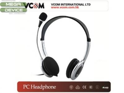 PC СЛУШАЛКИ С МИКРОФОН VCOM w/mic - DE133