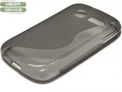 ПРОЗИРАЩ СИЛИКОНОВ ПРОТЕКТОР ЗА ALCATEL OT- 4015D / 4015T / 4016A / 4016D ONE TOUCH POP C1 - Grey Transparent