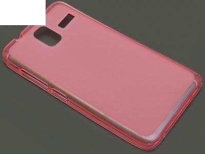 ПРОЗИРАЩ СИЛИКОНОВ ПРОТЕКТОР ЗА LENOVO S580 - Light Pink Transparent