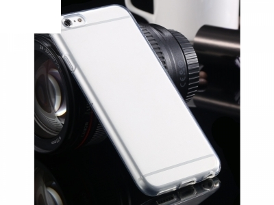 УЛТРА ТЪНЪК ПРОЗРАЧЕН СИЛИКОНОВ ПРОТЕКТОР ЗА iPhone 6 4.7-inch - Transparent