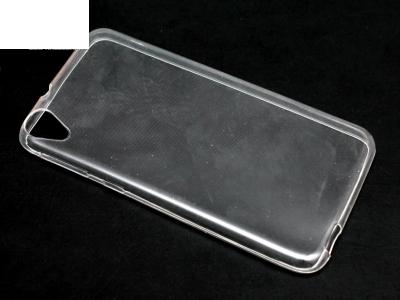 УЛТРА ТЪНЪК ПРОЗРАЧЕН СИЛИКОНОВ ПРОТЕКТОР ЗА HTC DESIRE 820 - Transparent
