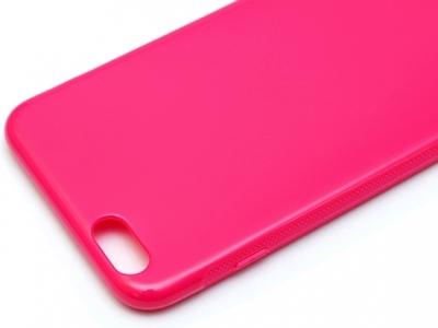 СИЛИКОНОВ ПРОТЕКТОР ЗА iPhone 6 Plus 5.5-inch - Pink