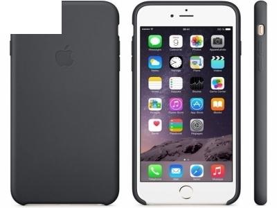 ОРИГИНАЛЕН СИЛИКОНОВ ПРОТЕКТОР ЗА iPhone 6 Plus 5.5-inch MGQF2ZM/A - Black