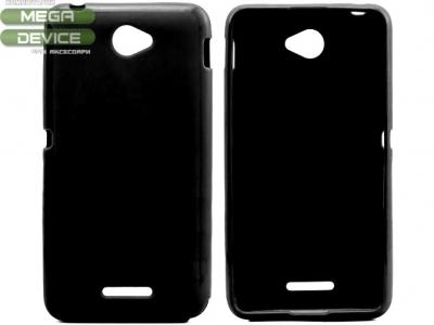 СИЛИКОНОВ ПРОТЕКТОР ЗА SONY XPERIA E4 / E4 Dual SIM E2104, E2105 - Black