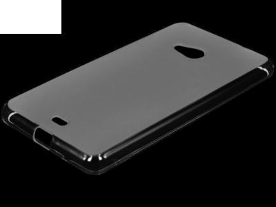 ПРОЗИРАЩ СИЛИКОНОВ ПРОТЕКТОР ЗА MICROSOFT LUMIA 535 / 535 Dual SIM RM-1090/1092 - Transparent