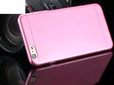 УЛТРА ТЪНЪК ПРОЗРАЧЕН СИЛИКОНОВ ПРОТЕКТОР ЗА iPhone 6 - 4.7inch - Pink Transparent