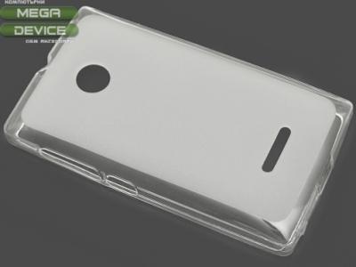 ПРОЗИРАЩ СИЛИКОНОВ ПРОТЕКТОР ЗА MICROSOFT LUMIA 532 RM-1032 - Transparent