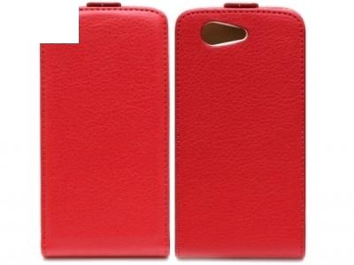 КОЖЕН ТЕФТЕР ЗА SONY D5803 D5833 XPERIA Z3 Compact - Red