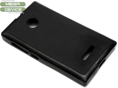 СИЛИКОНОВ ПРОТЕКТОР ЗА MICROSOFT LUMIA 435 / 435 Dual SIM RM-1070 - Black