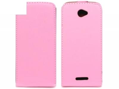 КАЛЪФ ТЕФТЕР ЗА SONY XPERIA E4 / E4 Dual SIM E2104 E2105 - Pink