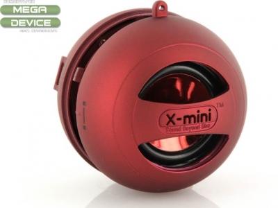 ПОРТАТИВНА КОЛОНКА КАПСУЛА X-Mini II Capsule Speaker - RED