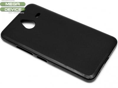 СИЛИКОНОВ ПРОТЕКТОР ЗА MICROSOFT LUMIA 640 XL RM-1066 RM-1067 - Black