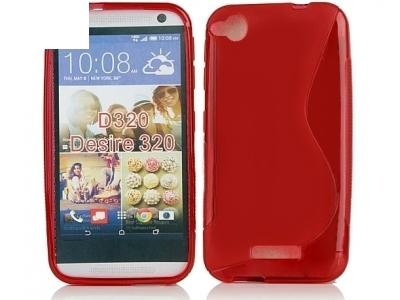 СИЛИКОНОВ ПРОТЕКТОР ЗА HTC DESIRE 320 - Red