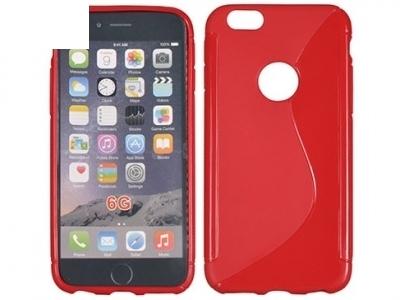 СИЛИКОНОВ ПРОТЕКТОР ЗА iPhone 6 4.7-inch - Red