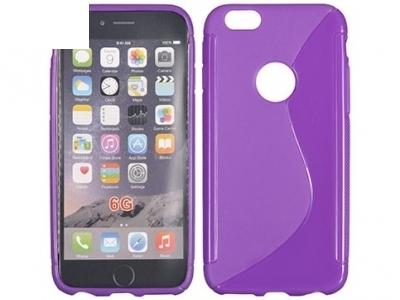 СИЛИКОНОВ ПРОТЕКТОР ЗА iPhone 6 4.7-inch - Purple