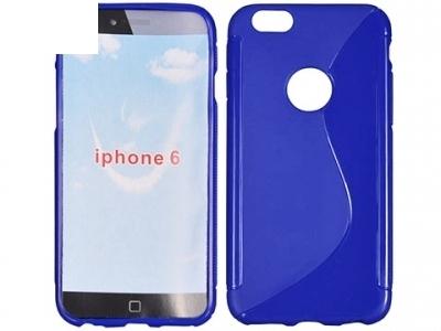 СИЛИКОНОВ ПРОТЕКТОР ЗА iPhone 6 4.7-inch - Ultramarine