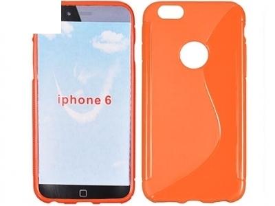 СИЛИКОНОВ ПРОТЕКТОР ЗА iPhone 6 4.7-inch - Orange