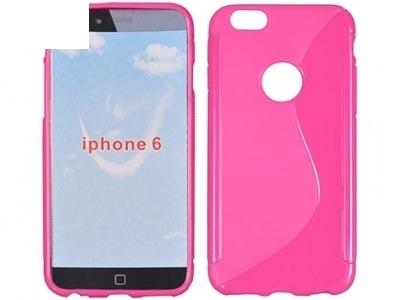 СИЛИКОНОВ ПРОТЕКТОР ЗА iPhone 6 4.7-inch - Pink