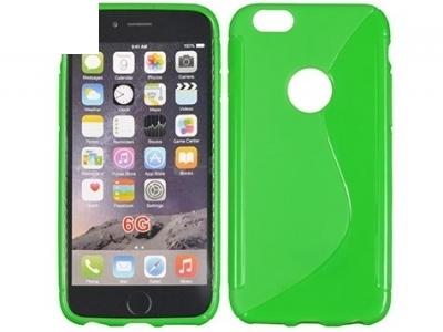 СИЛИКОНОВ ПРОТЕКТОР ЗА iPhone 6 4.7-inch - Green